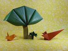 Origami Tree by Viviane Berty on giladorigami.com