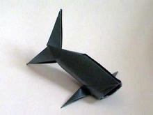 Origami Fish by Mark Bolitho on giladorigami.com