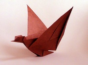 Origami Goose - flapping by Mark Bolitho on giladorigami.com