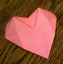 Origami 3D heart by Haui Bogl