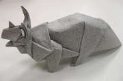 Origami Triceratops by Issei Yoshino on giladorigami.com