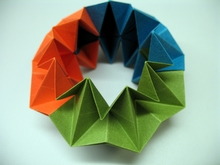 Origami Fire don