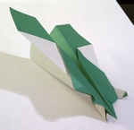 Origami Bug-eye glider by Nick Robinson on giladorigami.com