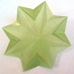 Origami Sunflower by Nick Robinson on giladorigami.com