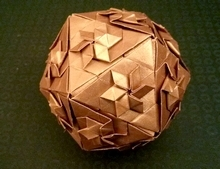 Origami Star icosahedron by Evan Zodl on giladorigami.com