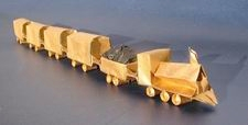 Origami Train by Emmanuel Mooser on giladorigami.com
