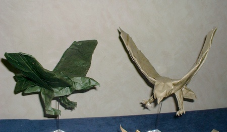 Origami Sea eagle by Leong Cheng Chit on giladorigami.com