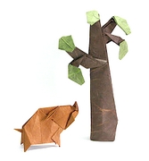 Origami Gum tree by Robert J. Lang on giladorigami.com