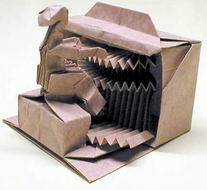 Origami Organist by Robert J. Lang on giladorigami.com