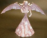 Origami Lady with wings by Mario Adrados Netto on giladorigami.com