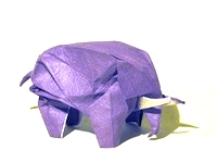 Origami Elephant by Robert J. Lang on giladorigami.com