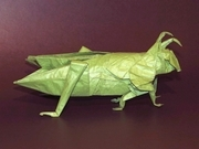Origami Grasshopper by Robert J. Lang on giladorigami.com