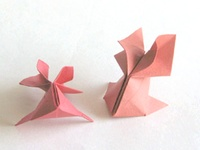 Origami Goldfish by Roman Diaz on giladorigami.com