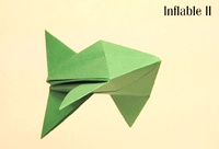 Origami Inflatable fish by Roman Diaz on giladorigami.com
