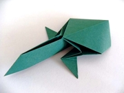 Origami Tadpole by Jun Maekawa on giladorigami.com