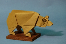 Origami Bear by Stephen Weiss on giladorigami.com