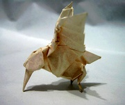 Origami Hummingbird by Peter Engel on giladorigami.com