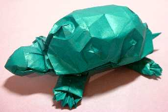 Origami Turtle by Eran Leiserowitz on giladorigami.com