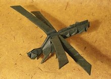 Origami Dragonfly by Andrey Ermakov on giladorigami.com