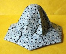 Origami Hat tessellation by Andrey Ermakov on giladorigami.com