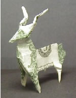 Origami Deer by John Montroll on giladorigami.com