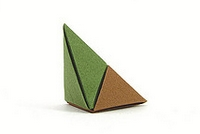 Origami Inclined pyramid by Francisco Javier Caboblanco on giladorigami.com