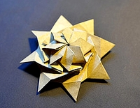 Origami Stars and Wheels by Andrew Hudson on giladorigami.com