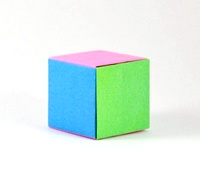 Origami Cube by Paul Jackson on giladorigami.com