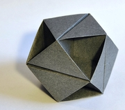 Origami Vertical slit cubic octahedron (Ore) by Tomoko Fuse on giladorigami.com