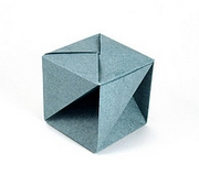 Origami One third cube by Jun Maekawa on giladorigami.com