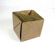 Origami Masu box by Jun Maekawa on giladorigami.com