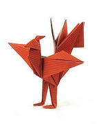 Origami Phoenix - Chinese by Jun Maekawa on giladorigami.com