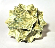 Origami Gemini by David Mitchell on giladorigami.com
