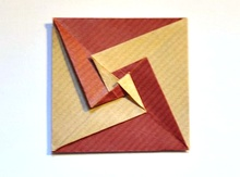 Origami Coasters by David Mitchell on giladorigami.com