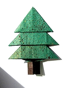 Origami Christmas tree by Francis Ow on giladorigami.com