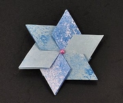 Origami 60 deg stars by David Petty on giladorigami.com