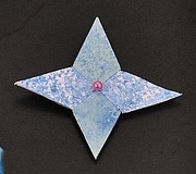 Origami Modular star by Nick Robinson on giladorigami.com