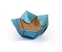 Origami Bowl by Philip Shen on giladorigami.com