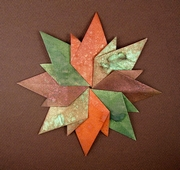 Origami Autumn leaves by Sok Song on giladorigami.com