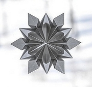 Origami Snowflake by Dennis Walker on giladorigami.com