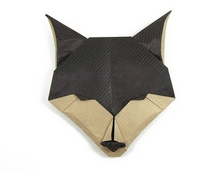 Origami Fox head by Evan Zodl on giladorigami.com