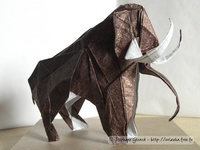 Origami Mammoth by Ryo Aoki on giladorigami.com