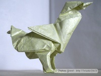 Origami Duck by Jason Ku on giladorigami.com