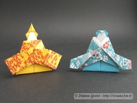 Origami Hina dolls by Jun Maekawa on giladorigami.com