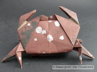 Origami Manju crab by Jun Maekawa on giladorigami.com