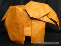 Origami Elephant by Marc Kirschenbaum on giladorigami.com