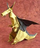 Origami Northern dragon by Hojyo Takashi on giladorigami.com