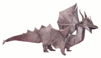 Origami Dragon-heart by Fernando Gilgado Gomez on giladorigami.com