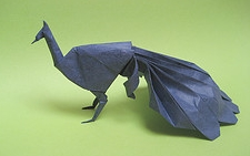 Origami Peacock by Neal Elias on giladorigami.com
