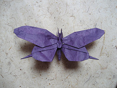 Origami Swallowtail butterfly by Meguro Toshiyuki on giladorigami.com